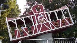 Victorian Gardens Amusement Park in Central Park NYC with The Legend