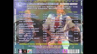 RUSH - Mid-American Dreams PE - Power Windows Tour 1986 (full concert)