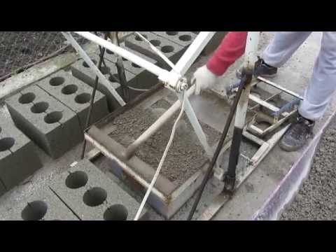 Производства шлакоблока своими руками