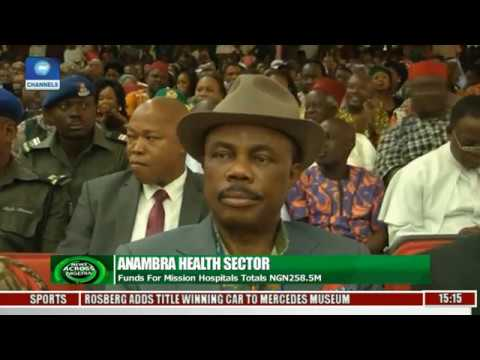 Anambra State Govt. Distributes Funds To Mission Hospitals
