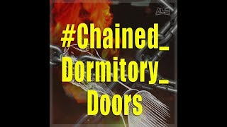 Chained doors lock students inside building during dormitory fire