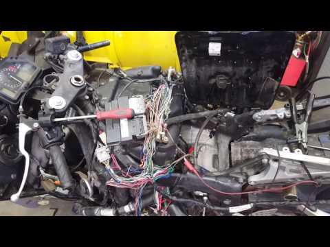 2004 Honda CBR600RR no start fix. No fuel prime