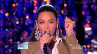 Beyoncé: If I Were A Boy - (Live On Ellen Show) - HD