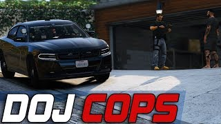 Dept of Justice Cops #768 - Auto Theft Task Force