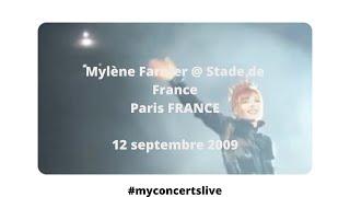 Concert Mylène Farmer Stade de France 12 septembre 2009