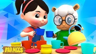 Polly Put The Kettle On | Nursery Rhymes For Children by Farmees