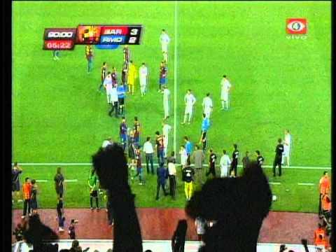 Tercer gol de Messi Escándalo Mourinho y Tito Vilanova Supercopa Española 2011 vuelta