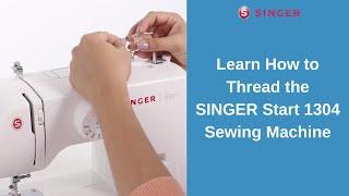 SINGER® START™ 1304 Sewing Machine - Threading