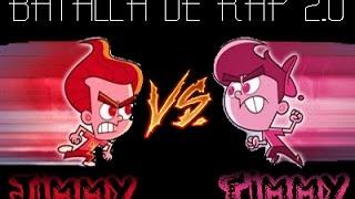 Jimmy Neutron VS Timmy Turner  || BATALLAS DE RAP 2.0