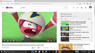 my reaction that soniccartman21 come back on youtube