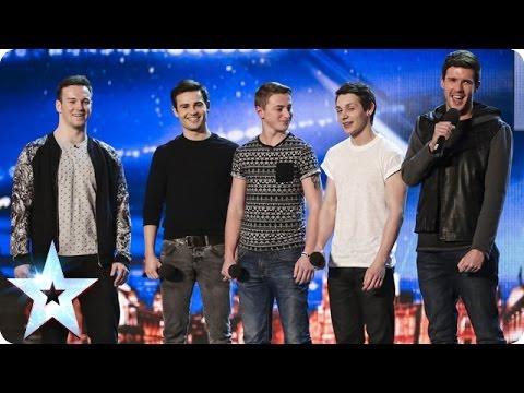 Xxx Mp4 Collabro Sing Stars From Les Misérables Britain S Got Talent 2014 3gp Sex