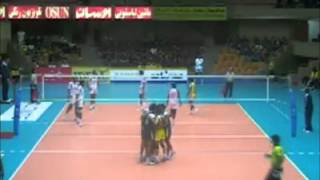 Pakistan vs India Volleyball match 2011 Iran