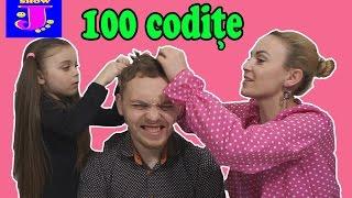 PROVOCARE 100 de codite pe capul TATICULUI☺Challenge amuzant☺Fata Crispata☺