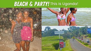 EP#5 | A day at the Beach in Uganda. Hitchhiking + party (Uganda Daily Vlogs #UGDV)
