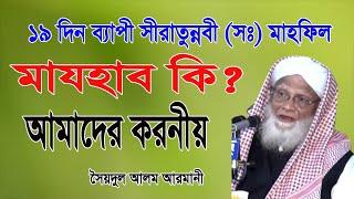 Bangla waz|মাজহাব কি|by Mowlana Saidul Alam Armani|Chunati Waz 7Day