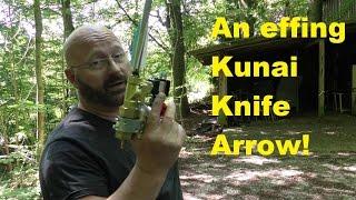 Kunai Knife Arrow Head (more from the Steampunk Pistol)