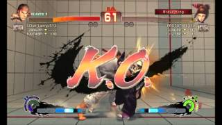 Ultra Street Fighter IV Ryu vs Juri DJ NSP Music