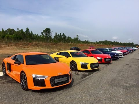 Audi Driving Experience Event 2016 on an Airstrip   Hosur   India
