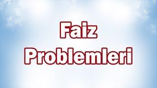 Faiz Problemleri | 7. Sınıf Matematik
