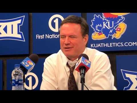 Coach Self after KU's win over South Dakota