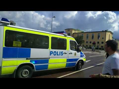 Dramatiska scener när HIF-supporter greps