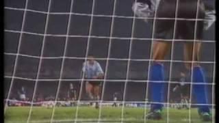 World Cup Italia 1990 Italy v Argentina Semi Final Penalties (1)