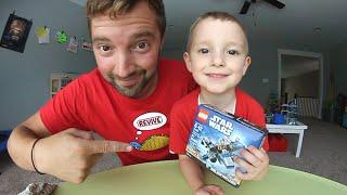 DAD & SON BUILD LEGO X-WING!