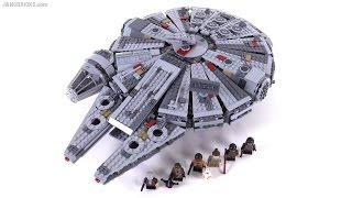 LEGO Star Wars Force Awakens Millennium Falcon review! 75105