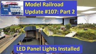 MRUV 107 Part 2: LED Panel Lights Installed