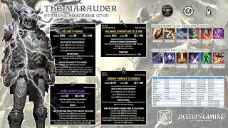 ESO PvP Stamina Sorcerer for Homestead [The Marauder]