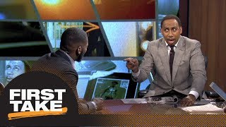 Stephen A. goes off on Ryan Clark for Roethlisberger-Rodgers comparison   First Take   ESPN