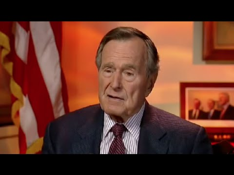 watch George H.W. Bush Says He's Voting for Hillary Clinton