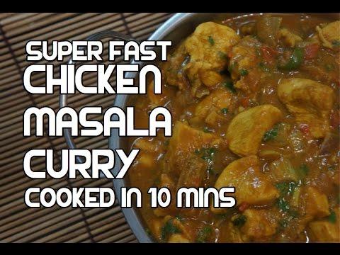 Xxx Mp4 Chicken Curry In 10 Mins Recipe Super Fast Indian Masala 3gp Sex