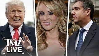 Trump Ordered Stormy Daniels Hush Money | TMZ Live