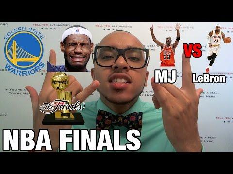 TEA 2015 NBA FINALS Congrats Warriors LeBron vs MJ LeBron s hairline though