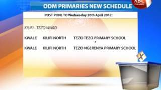 ODM orders a repeat of nominations in six constituencies