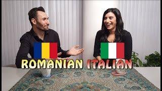Similarities between Romanian and Italian
