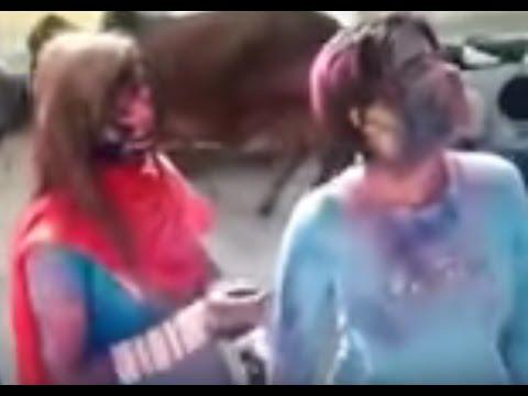 Holi Masti with Bhabhi