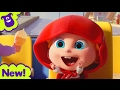 Download Video Wheels On The Bus Nursery Rhymes from Mr Freckles 3GP MP4 FLV