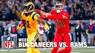 Tavon Austin's Awesome Catch-'n-Run TD! | Buccaneers vs. Rams | NFL