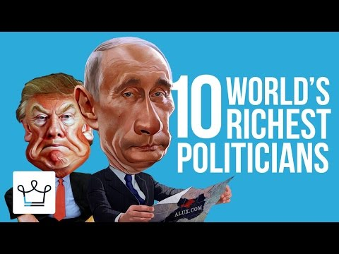 Top 10 Richest Politicians In The