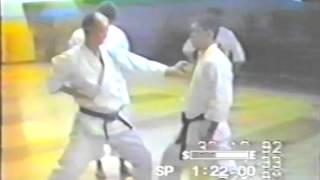 Training in the Hombu Dojo JKA. 1992.