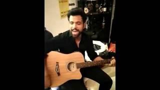 Rithvik's jamming session with Team Delhi Dragons (Snapchat) - 28/2/2016