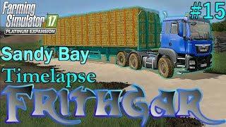 FS17 Timelapse, Sandy Bay #15: Baling!