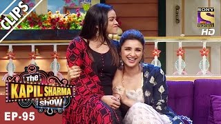 Sarla Gulati Meets Parineeti & Ayushmann -The Kapil Sharma Show - 8th Apr, 2017