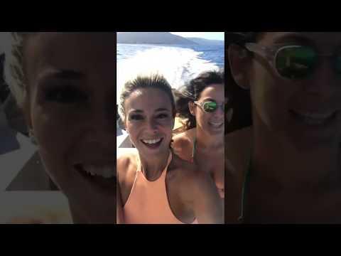 Diletta Leotta hot: in barca ad Alassio!