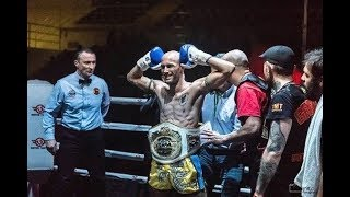 (TKO R1) Carlos 7 Muay Thai Gym vs Kunitaka Fujiwara - ISKA World title