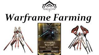 Warframe Farming - Vengeful Revenant (Conculyst & Battalyst)