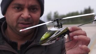 Mini RC Electric Helicopter Stunt Abuse