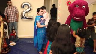 Shivu fun filled 2nd Birthday Barney part4